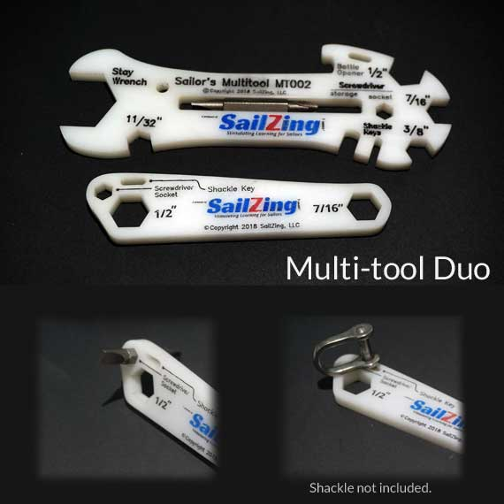 Multi-tool Duo MT002DUO multitool sailing wrench